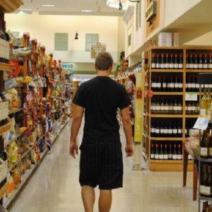 Germania, si spoglia e si chiude nel frigo di un supermercato (foto d'archivio Ansa)