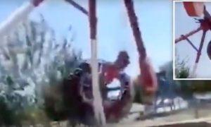 Giostra si spezza: morta una 19enne nel luna park in Uzbekistan VIDEO