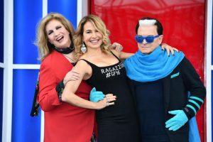 Veronica Satti e Bobby Solo alla finale del Grande Fratello