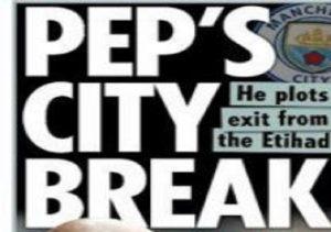 """Guardiola, dall'Inghilterra: """"Lascerà il Manchester City ma... tra un anno"""""""