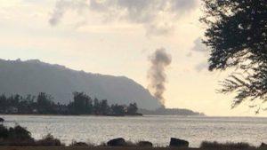 Hawaii, aereo bimotore precipita a Oahu: nove morti