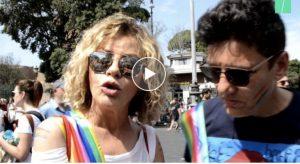 """Roma Pride, Imma Battaglia: """"Questo governo con più gay della storia"""""""