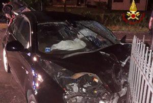 """Povegliano (Treviso), si schianta con auto e uccide 62enne. La fidanzata: """"Volevo lasciarlo, ha sterzato apposta"""""""