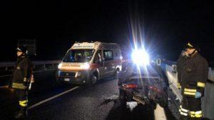 Milano: suv travolge e uccide due motociclisti in tangenziale