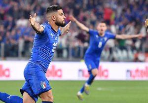 Euro 2020, Italia batte la Bosnia 2 a 1: gol di Insigne e Verratti