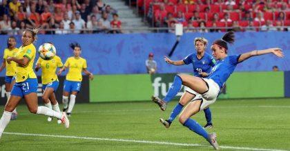 Calcio donne ha vinto: Italia-Brasile 6,5 milioni davanti alla tv. Più di Italia-Grecia maschi
