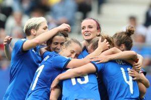 Italia batte Giamaica 5 a 0: azzurre strepitose ai Mondiali di calcio