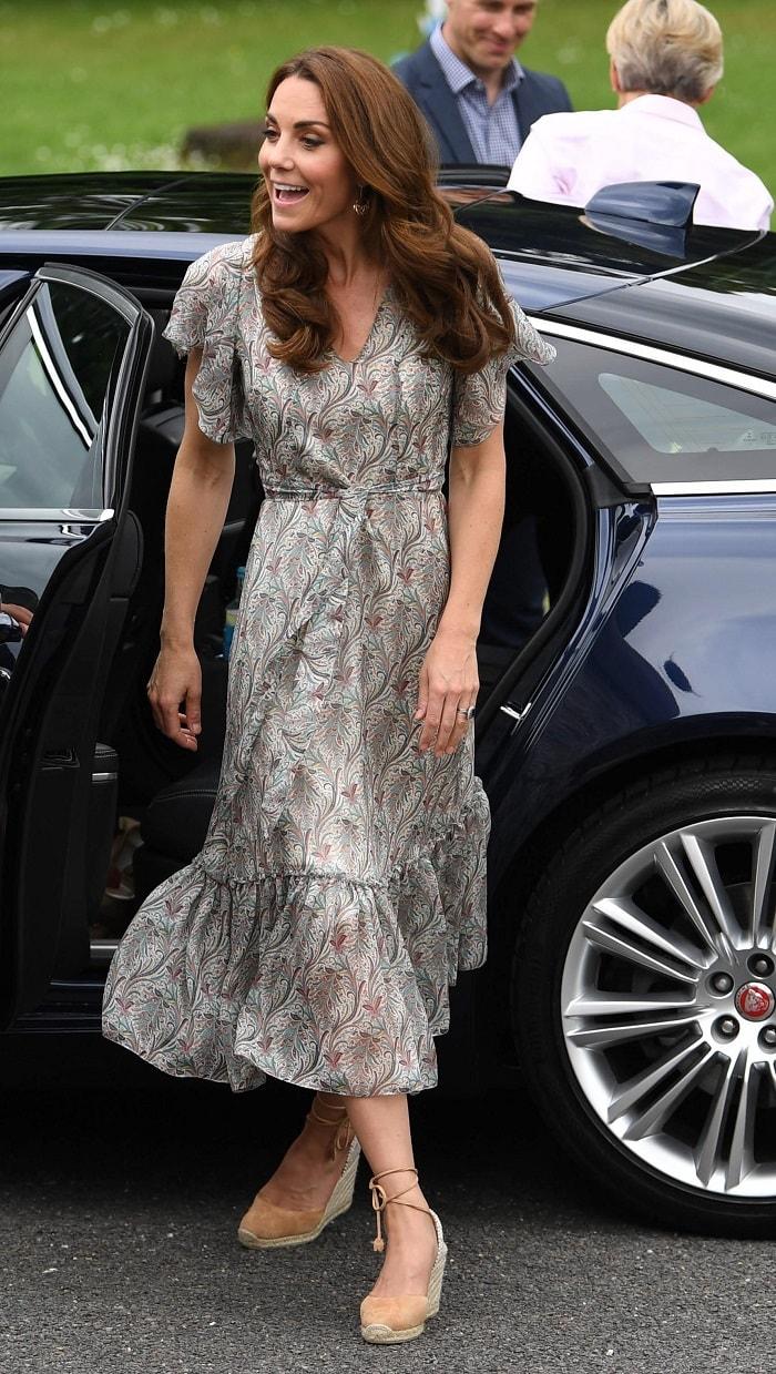 Kate Middleton all'evento di Action for Children FOTO. La duchessa e i viaggi in aereo, cosa dice il protocollo1