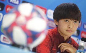 Mondiale femminile. Lady Messi sfida l'Italia: occhio alla cinese del Psg Wang Shuang