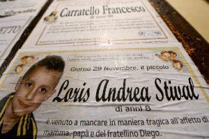 """Davide Stival, la commovente lettera per Loris: """"Da cinque anni..."""" (foto Ansa)"""