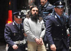 Luca Delfino in carcere ha confessato altri due omicidi (foto Ansaa)