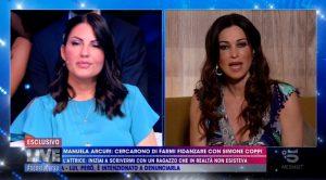 Manuela Arcuri e la rivelazione su Simone Coppi a Live Non è la D'Urso