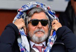 """Edoardo Garrone: """"Massimo Ferrero? Un buffone ma... gestisce bene la Sampdoria"""" (foto Ansa)"""