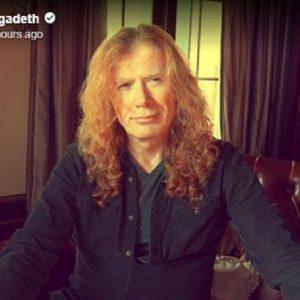 """Megadeth, il cantante Dave Mustaine rivela: """"Ho un cancro alla gola"""""""