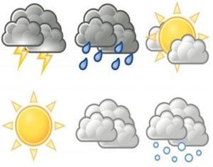Previsioni meteo: al Nord sole e caldo, al Sud temporali e grandine