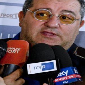 Calciomercato Juventus, trattativa con Raiola per Luca Pellegrini, Pogba e... de Ligt (foto Ansa)