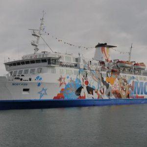 Corsica, sciopero dei marittimi: traghetto Moby Zazà bloccato a Bastia