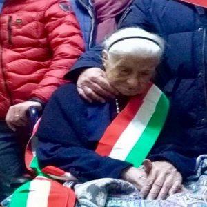 Giuseppina Robucci, è morta Nonna Peppa: era la donna più anziana d'Europa (foto Ansa)
