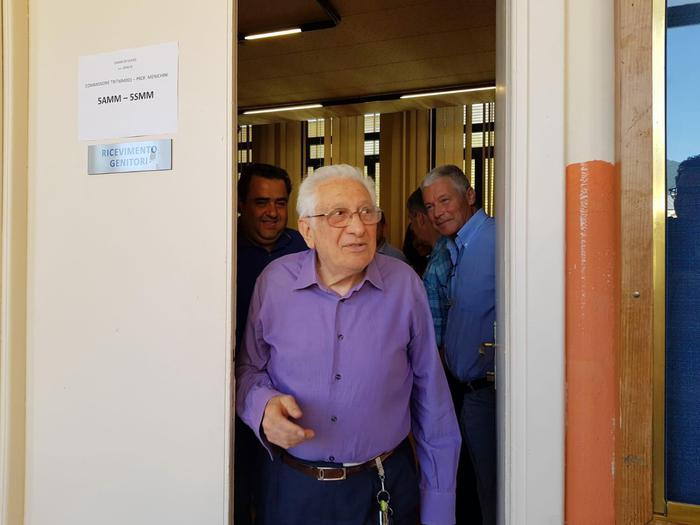 Maturità, nonno Alberto Trionfetti da record: secondo diploma a 83 anni 02