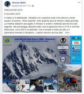 Valanga travolge alpinisti italiani in Pakistan: portati in salvo