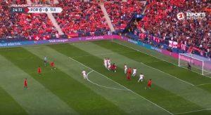 Cristiano Ronaldo gol su punizione al primo tentativo col Portogallo. Con la Juve nessuno...