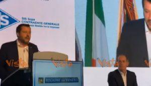 """Flat tax, Salvini: """"O si fa o si muore e il debito esplode. Conte ha pieno mandato"""""""