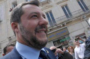 """Salvini: """"Miei figli 60 milioni di italiani"""". Beppe Sala: """"Non lo voglio neanche come zio"""" (foto Ansa)"""