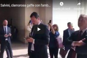 """YOUTUBE Matteo Salvini e la gaffe su Rocky: """"Una volta a Washington andammo alla scalinata..."""""""