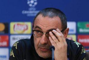 """Sarri, Cobolli Gigli: """"Non ha classe. Non scordo quel dito medio ai tifosi della Juventus"""" (foto Ansa)"""