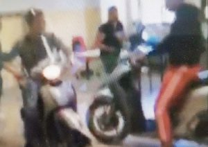 Catania, entrano in classe con lo scooter: denunciati due studenti