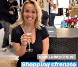Sonia Bruganelli e Taylor Mega, shopping sfrenato a Milano