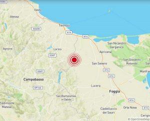 Terremoto Molise, scossa del 3.2 avvertita da Campobasso al Gargano