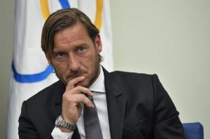 Francesco Totti e il consiglio di Ilary Blasi sul corso di inglese