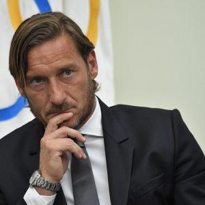 """Totti: """"Uno tra me e Baldini doveva uscire. Lui ha sempre l'ultima parola. Io dico sempre la verità, loro..."""""""