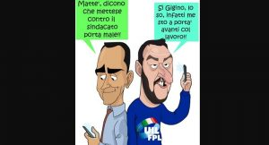 Striscioni sequestrati: alla Uil per il Pincio, le altre volte no. Non lo ordina Salvini, allora chi?
