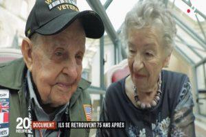 Francia, veterano della seconda guerra mondiale ritrova il suo primo amore dopo 75 anni