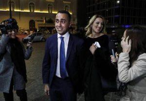 "Annalisa Chirico: ""Luigi Di Maio e Virginia Saba? Lei mi sembra... un supplì"" (foto Ansa)"