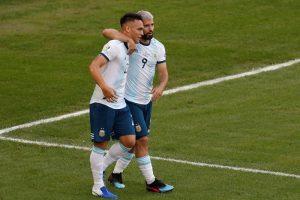YouTube Lautaro Martinez lancia Argentina, video gol tacco contro Venezuela: ora semifinale con il Brasile