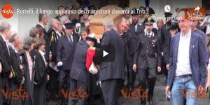 Francesco Borrelli: la camera ardente al palazzo di Giustizia