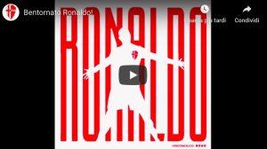 Ronaldo al Padova, presentazione in stile Juventus con Cr7 VIDEO