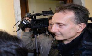 Antonio Logli, la prima notte in carcere dopo la condanna in Cassazione (foto Ansa)