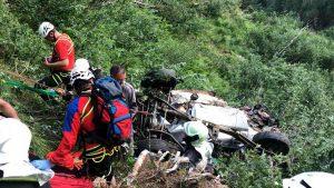 Val Ridanna, auto precipita nella scarpata: due ragazze morte. Altrettante ferite