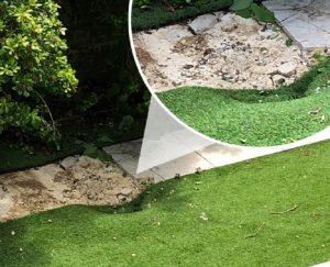 londra clandestino giardino