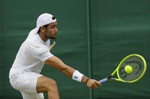 Wimbledon, Matteo Berrettini agli ottavi. Affronta Roger Federer