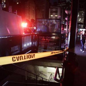 Una foto del blackout a New York