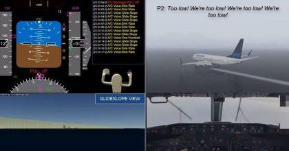 Boeing 737 fuori pista in Micronesia, la voce del pilota