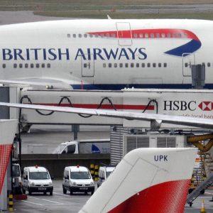 British Airways cancella voli Cairo per allerta terrorismo