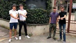Torino, festeggiano fine lavori socialmente utili con video di insulti alle forze dell'ordine: 4 bulli di nuovo nei guai