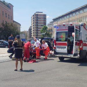 Carabiniere ferito da un colpo di pistola a Terni