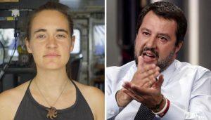 """Carola Rackete, nella denuncia a Salvini chiede il sequestro dei suoi social: """"Incitano all'odio"""""""